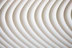 Weiße Kurvenbeschaffenheit mit Schatten und Schatten Lizenzfreies Stockbild