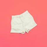 Weiße kurze Hosen Stockbilder