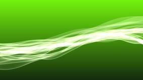 Weiße Lichtwellen lizenzfreie abbildung