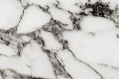 Weiße Marmorbeschaffenheit Marmornaturmuster Stockbild