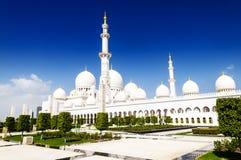 Weiße Moschee Lizenzfreie Stockfotos