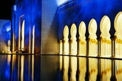 Weiße Moschee Lizenzfreie Stockfotografie
