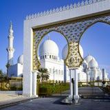Weiße Moschee Stockfotos