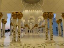 Weiße Moschee Lizenzfreies Stockbild