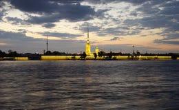 Weiße Nacht in Petersburg Stockbilder