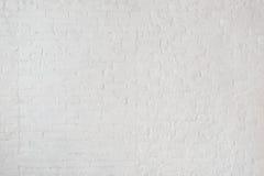 Weiße nebelhafte Backsteinmauer für Hintergrund oder Beschaffenheit Lizenzfreie Stockfotos