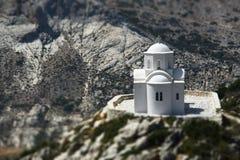 Weiße Ortodox-Kirche Lizenzfreies Stockfoto
