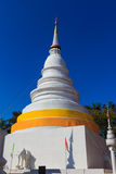 Weiße Pagode in Wat Phra Singh Lizenzfreies Stockbild