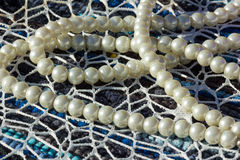 Weiße Perle Stockfotografie