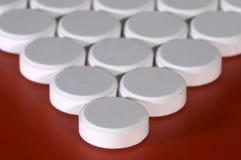 Weiße Pille Stockfotos