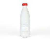 Weiße Plastikflasche Lizenzfreies Stockbild