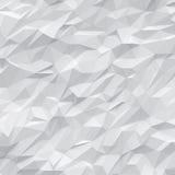 Weiße Polygone Form und wireframe Lizenzfreie Stockbilder