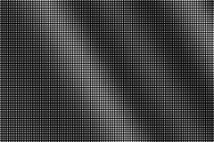 Weiße Punkte auf schwarzem Hintergrund Halbtonvektorbeschaffenheit Kleine dotwork Steigung Einfarbiges Halbton vektor abbildung