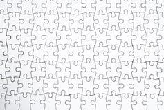 Weiße Puzzlespiele Lizenzfreie Stockfotografie