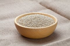 Weiße Quinoasamen Lizenzfreie Stockbilder