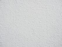 Weiße raue Zementwand Stockfoto