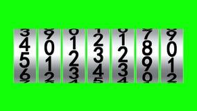 Weiße Rollen des Zählers vektor abbildung