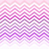 Weiße rosa purpurrote Schatten Chevrons Stockbilder