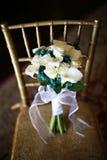 Weiße Rose Bouquet Stockfotografie