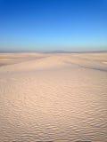 Weiße Sande Stockbild