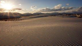 Weiße Sande, New Mexiko Stockbild