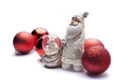 Weiße Santa Claus Lizenzfreie Stockfotografie