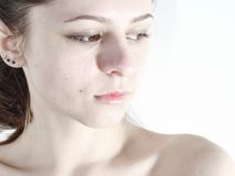 Weiße Schönheit 1 Stockbilder