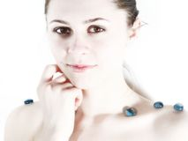 Weiße Schönheit 3 Lizenzfreies Stockfoto