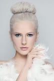 Weiße Schönheit Stockfotografie