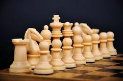 Weiße Schachabbildung lizenzfreie stockfotografie