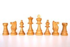Weiße Schacharmee Stockbilder