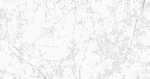 Weiße Schmutzbetonmauer mit grauen Sprüngen, Kratzer, schäbige Stellen stock abbildung