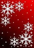 Weiße Schneeflocke Lizenzfreies Stockfoto