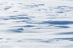 Weiße Schneeoberfläche der Blendung Lizenzfreies Stockfoto