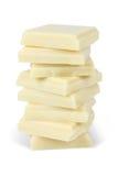 Weiße Schokolade Lizenzfreie Stockfotografie