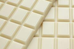 Weiße Schokolade Stockfoto