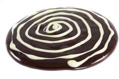 Weiße Schokoladenringe lizenzfreie stockfotografie