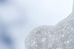 Weiße Seifenblasereflexion Lizenzfreie Stockbilder
