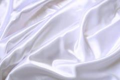 Weiße silk Beschaffenheit stockbild