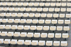 Weiße Sitze Stockfotos