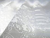 Weiße Spitze Stockbild