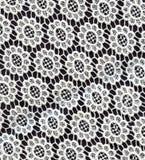 Weiße Spitzeblumen Stockbilder