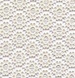 Weiße Spitzeblumen Stockfotografie