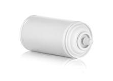 Weiße Spraydose Stockbilder
