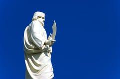 Weiße Statue Stockfoto