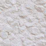 Weiße Steinwand Stockfoto