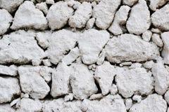 Weiße Steinwandbeschaffenheit Lizenzfreie Stockbilder