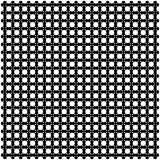 Weiße Sterne auf schwarzem Hintergrund Stockfotografie