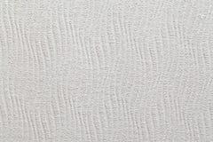 Weiße strukturierte gewellte Wand Stockfotos