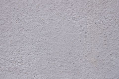 Weiße Stuckwand Detail des alten hölzernen Fensters Stockfotografie